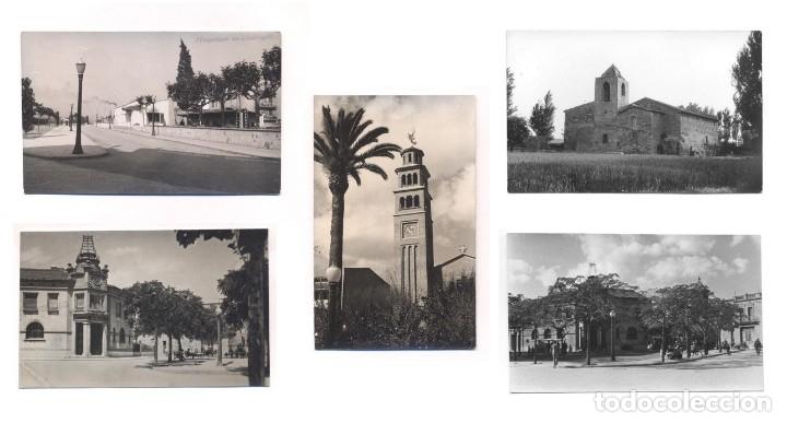 P2090-94.- HOSPITALET DE LLOBREGAT (BARCELONA). -SANTUARIO DE NTRA. SRA. DE VALLVITGE, IGLESIA, ETC (Postales - España - Cataluña Moderna (desde 1940))