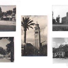 Postales: P2090-94.- HOSPITALET DE LLOBREGAT (BARCELONA). -SANTUARIO DE NTRA. SRA. DE VALLVITGE, IGLESIA, ETC. Lote 62054804