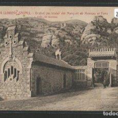 Postales: SANT LLORENÇ SAVALL - ORATORI PARTICULAR DEL MARQUÈS I EL MONTCAU - P26569. Lote 133646638