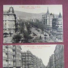 Postales: POSTALES BARCELONA.ED.ROISIN CON PUBLICIDAD EN REVERSO, S/C.. Lote 133664062
