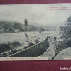 Postales: POSTAL TORTOSA.ED. THOMAS S/C.SERIE 2ª, Nº10, PUBLICIDAD REVERSO.. Lote 133668902