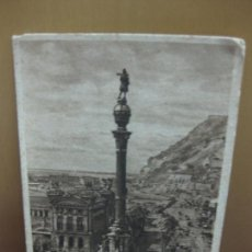 Postales: POSTAL BARCELONA - 74. MONUMENT A COLOM. MONUMENTO A COLON. ZERKOWITZ. Lote 133805682