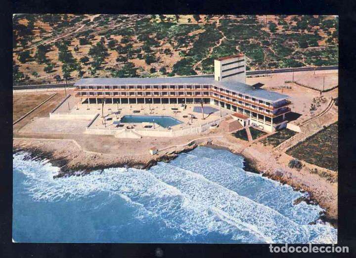 POSTAL D' ALCANAR(TARRAGONA): GRAN HOTEL CARLOS III (DISTR.CASTELL ARASA) (Postales - España - Cataluña Moderna (desde 1940))
