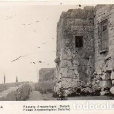 Postales: TARRAGONA - 27 PASEO ARQUEOLÓGICO - DETALLE. Lote 133965178