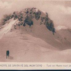 Postales: POSTAL GRAN HOTEL DE SANTA FE DEL MONTSENY - TURO DEL HOME MORT - ROISIN. Lote 134166074