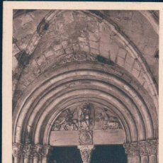 Postales: POSTAL TARRAGONA - CATEDRAL - PORTA ROMANICA DEL CLAUSTRE - ARXIU TAU - MUMBRU. Lote 134169318