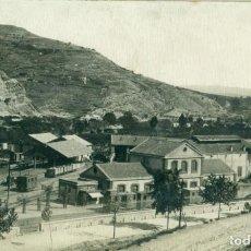 Postales: GIRONA SALLENT. ESTACIÓ ESTACIÓN FERROCARRIL. FOTO LLINÁS HACIA 1920.. Lote 134182238