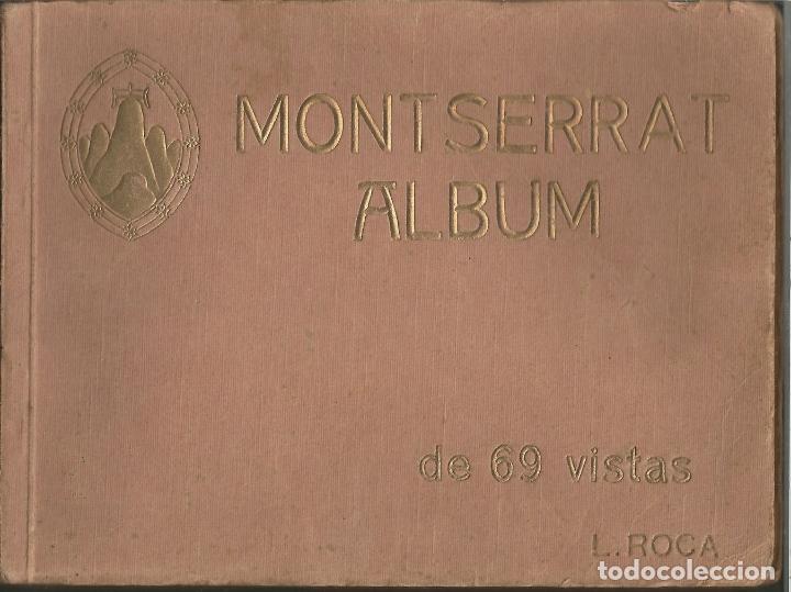 MONTSERRAT ALBUM DE 69 VISTAS - L. ROCA (Postales - España - Cataluña Antigua (hasta 1939))