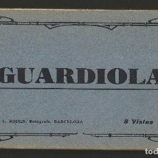 Postales: GUARDIOLA DE BERGUEDÀ - CARNET 8 VISTAS - P26869. Lote 134247726