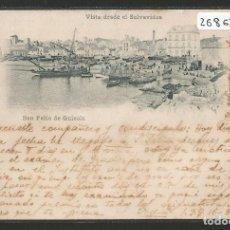 Postales: SANT FELIU DE GUIXOLS - VISTA DESDE EL SALVAVIDAS - MAURI 5 LA BISBAL - P26862. Lote 134247770