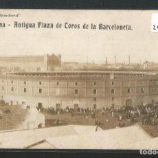 Postales: BARCELONA - ANTIGUA PLAZA DE TOROS DE LA BARCELONETA - SERIE STANDARD - P26872. Lote 134247866