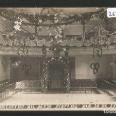 Postales: BARCELONA - RECUERDO DEL MAYO FLORIDO 1920 - FOTOFRAFÍA VALDÉS SANT ANDREU DE PALOMAR - P26879. Lote 134247926