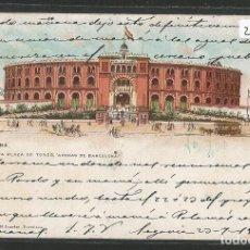 Postales: BARCELONA - NUEVA PLAZA DE TOROS ARENAS DE BARCELONA - REVERSO SIN DIVIDIR - P26882. Lote 134247938