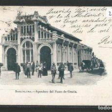 Postales: BARCELONA - APEADERO DEL PASEO DE GRACIA - A. MAURI 165 - P26880. Lote 134247942
