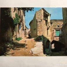 Postales: GUIMERA (LERIDA) POSTAL NO.10 CALLE DE LA SENDRA Y CASA MINGUELLA. EDITA: FOTOGRAFÍCAS BARCELONA. Lote 134348881