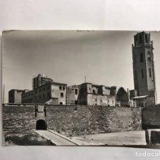 Postales: LÉRIDA. POSTAL NO.10 SEO ANTIGUA. VISTA DE FRENTE. EDITA: SOBERANAS (H.1950?). Lote 134348941