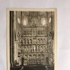 Postales: REAL MONASTERIO DE POBLET (TARRAGONA) POSTAL NO.19 ALTAR MAYOR (H.1950?). Lote 134349147