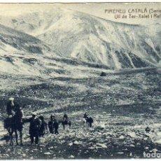 Postales: BONITA POSTAL - PIRENEU CATALA - ULL DE TER (GIRONA) - XALET I REFUGI. Lote 134793662