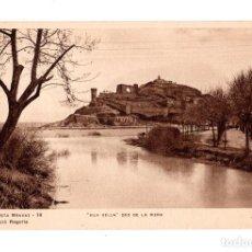 Postales: TOSSA DEL MAR (COSTA BRAVA).- VILA VELLA. DES DE LA RIERA. (ZERKOWITRZ.). Lote 135193274