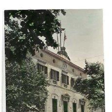 Postales: BARCELONA MATARÓ AYUNTAMIENTO. POSTAL FOTOGRÁFICA EN BLANCO Y NEGRO, COLOREADA. CIRCULADA. Lote 135251334