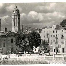 Postales: TARRAGONA VALLS PLAZA DE SAN FRANCISCO. FOTO RUE DE VALLS Y RAYMOND. POSTAL FOTOGRÁFICA. Lote 135255350