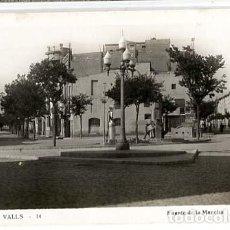 Postales: TARRAGONA VALLS FUENTE DE LA MANCHA POSTAL FOTOGRÁFICA SIN CIRCULAR. Lote 135255482