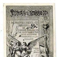 Postales: BARCELONA ILUSTRADA POR P. FARRÉ PUBLICITARIA DE FOTOTIPIA DE VIDAL Y MISSE HNOS. SIGLO XIX AÑO 1888. Lote 135272494