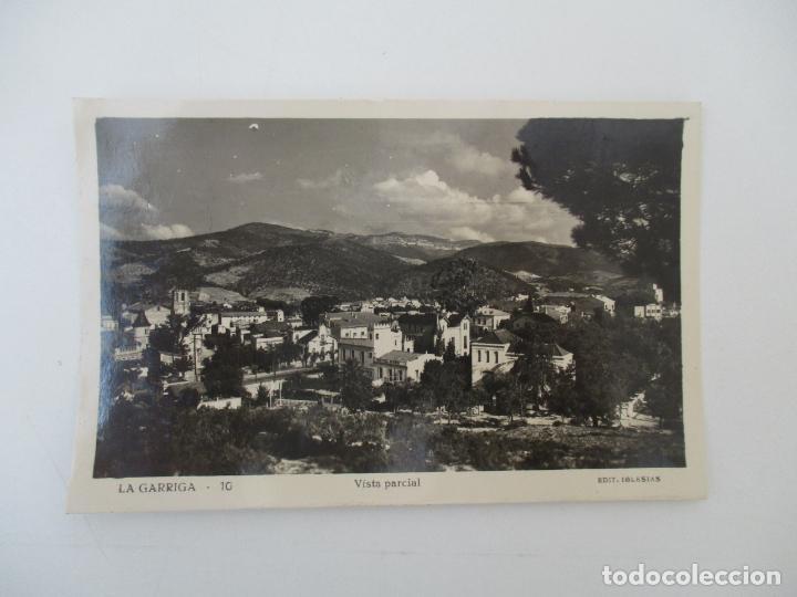 TARJETA POSTAL - VISTA PARCIAL - LA GARRIGA - EDICIÓN IGLESIAS - AGOSTO 1957 (Postales - España - Cataluña Antigua (hasta 1939))