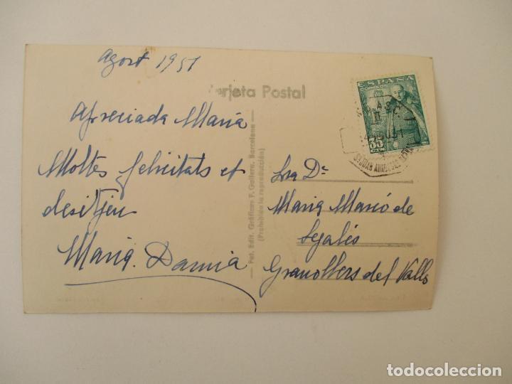Postales: Tarjeta Postal - Vista Parcial - La Garriga - Edición Iglesias - Agosto 1957 - Foto 2 - 135301082