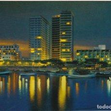 Postales: COSTA BRAVA, PALAMOS, DETALLE NOCTURNO, PROVINCIA GERONA. Lote 135399318