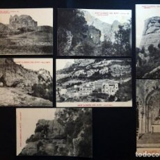 Postales: COLECCIÓN DE 7 POSTALES SIN CIRCULAR DE SANT LLORENÇ DE MUNT, DEL AÑO 1922. VER FOTOGRAFIAS. Lote 135473158