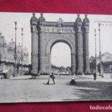 Postales: BARCELONA - ARCO DE TRIUNFO. Lote 135492114