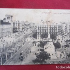 Postales: BARCELONA - PLAZA UNIVERSIDAD. Lote 135495730