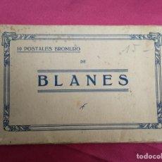 Postales: 10 POSTALES BROMURO DE BLANES. Lote 135523070