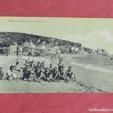 Postales: ARENYS DE MAR - LAS HORAS DEL BAÑO - BARCELONA - C. SOLÁ EDITOR FOTOGRÁFICO - AÑOS 20. Lote 135563202