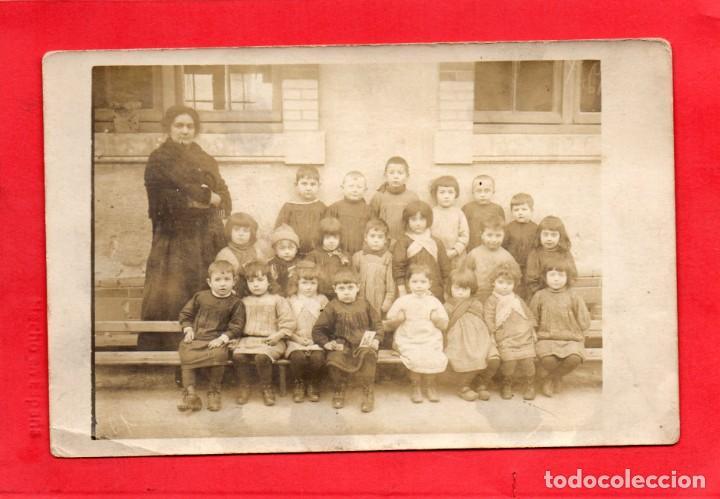 HORTA DE SAN JUAN ?. ESCOLARES. FOTOGRÁFICA (Postales - España - Cataluña Antigua (hasta 1939))