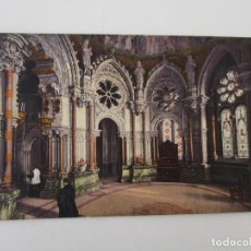 Postales: TARJETA POSTAL - MONTSERRAT - INTERIOR DEL CAMARIN - L. ROCA. Lote 135640211