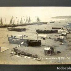 Postales: POSTAL TORRADENBARRA, PLAYA. TARRAGONA. AÑO 1910. . Lote 135641687