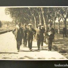 Postales: POSTAL OLOT, GERONA. LLEGADA A OLOT, MAYO, 1915. VIAJE ESCUELA SUPERIOR DE AGRICULTURA. . Lote 135643063