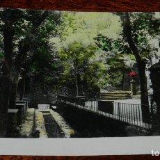 Postales: FOTO POSTAL DE OLOT, GERONA, FUENTE DE LA MOIXINA, N. 8, SIN CIRCULAR.. Lote 135656515