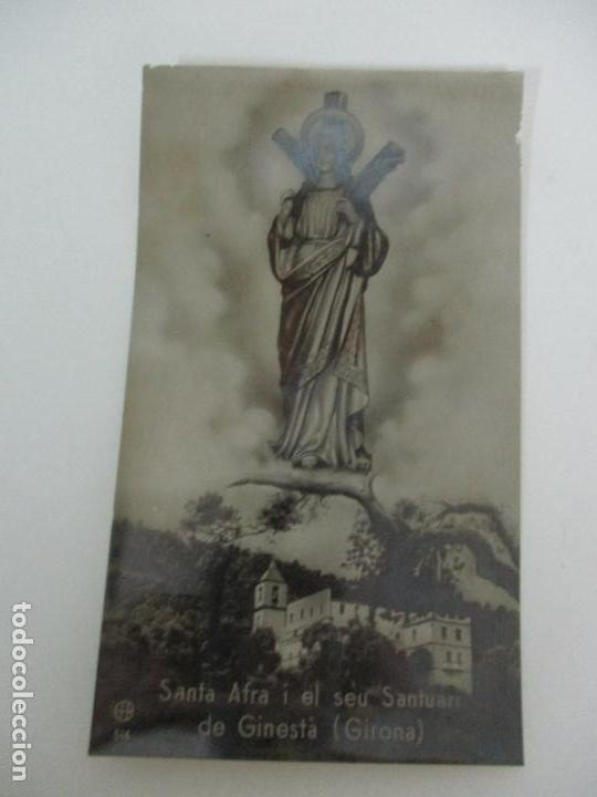 Postales: Postal - Santa Afra i el seu santuari de Ginestà (Girona) - Foto 4 - 135747030