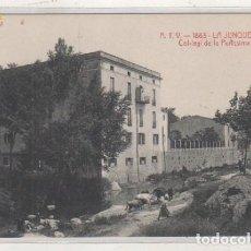Postales: ATV 1863 LA JUNQUERA. COLEGIO DE LA PURÍSIMA CONCEPCION. SIN CIRCULAR. . Lote 135800378
