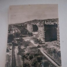 Postales: BARCELONA AVENIDA GENERALISIMO HACIA PEDRALBES. Lote 135804122
