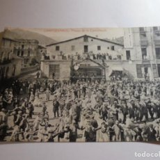 Postales: MAGNIFICA ANTIGUA FOTO POSTAL,CAMPDEVANOL PLASSA DE LA CONSTITUCIO. Lote 135804186
