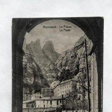 Postales: LOTE DE 9 POSTALES ANTIGUAS DE MONTSERRAT. Lote 135805414
