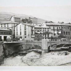 Postales: POSTAL FOTOGRÁFICA - POBLA DE LILLET, VISTA PARCIAL - FOTO CINE LUIGI - SIN CIRCULAR. Lote 136038538