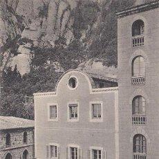Postales: MONTSERRAT, RESTAURANT DEL MONASTIR, BARCELONA. Lote 136156146
