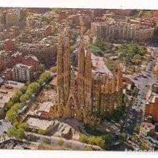 Postales: BARCELONA - LA SAGRADA FAMILIA Nº B 0114 - POSTALES KOLORHAM - ESCRITA. Lote 136198170