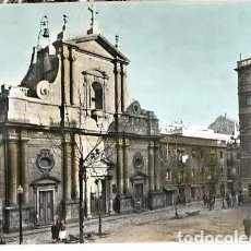 Postales: BARCELONA BARCELONETA IGLESIA Y PLAZA SAN MIGUEL. ED. A. ZERKOWITZ. SIN CIRCULAR. Lote 136218058