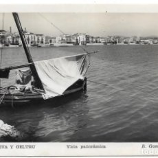 Postales: VILLANUEVA Y GELTRU .- VISTA PANORAMICA .- FOTO R. GASSÓ . Lote 136647354